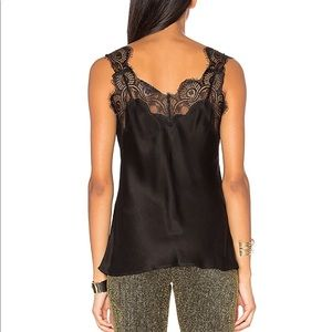 LPA Tops - LPA Top With Lace Trim